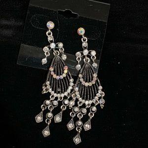 Bling costume earrings dangle new
